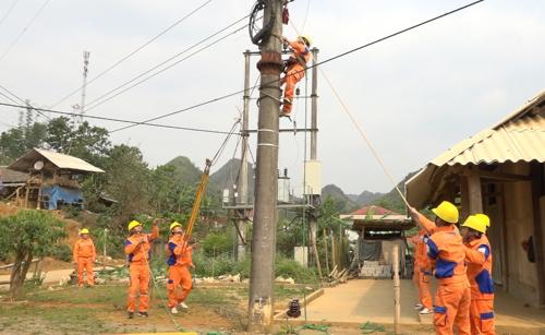 Khac phuc su co phong dien duong day 35kV